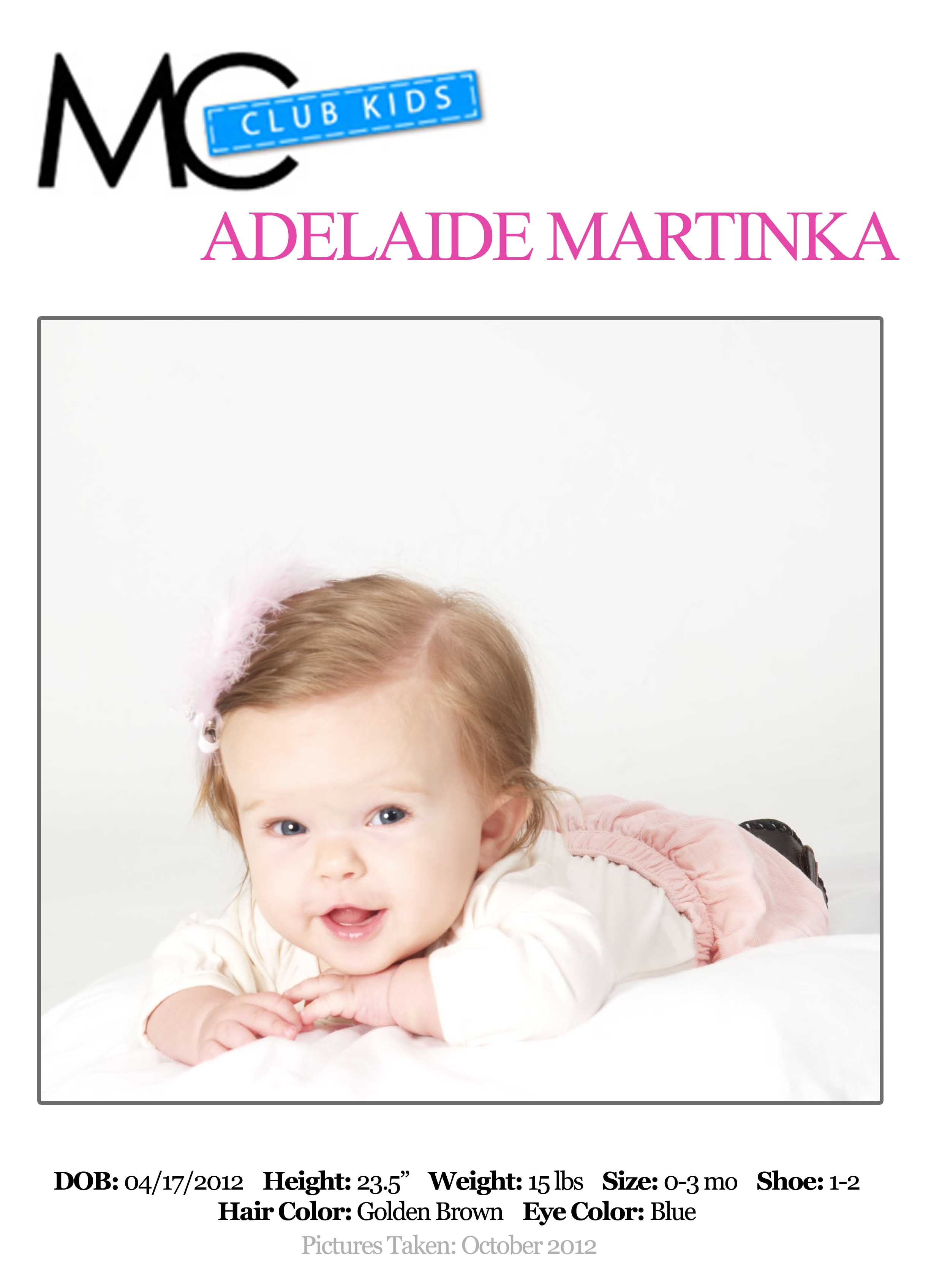 Does she have what it takes to be... - A is for Adelaide ...