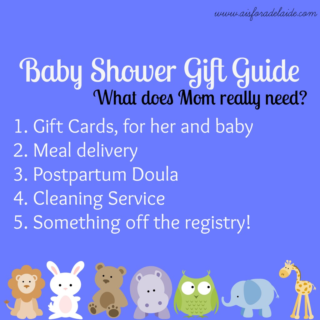 Baby Gift Guide : Baby shower gift guide a is for adelaide and